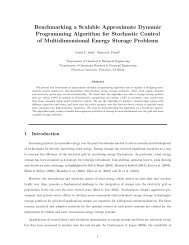 Benchmarking a Scalable Approximate Dynamic Programming ...