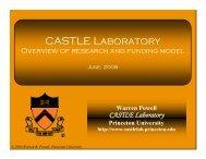 CASTLE Laboratory - CASTLE Lab - Princeton University