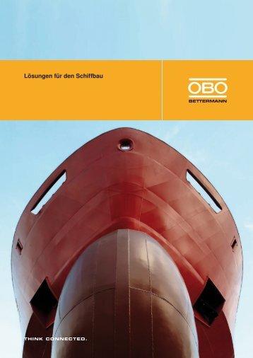Lösungen für den Schiffbau - OBO Bettermann