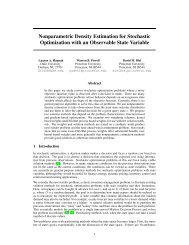 Nonparametric Density Estimation for Stochastic Optimization with ...