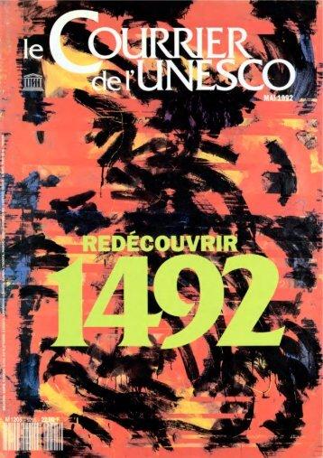 Redécouvrir 1492; The UNESCO courier: a ... - unesdoc - Unesco