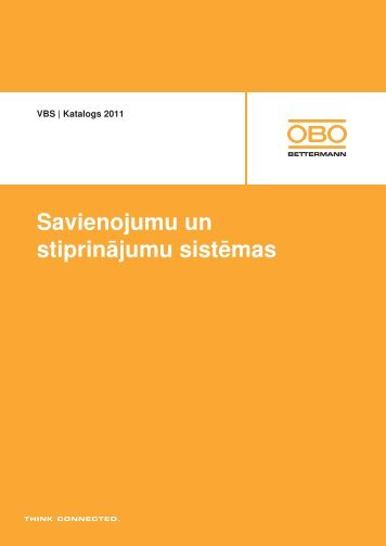 VBS   Zemapmetuma un dobu sienu sistēmas - OBO Bettermann