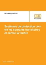 Protection contre les surtensions, parafoudre de ... - OBO Bettermann