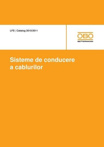 LFS | WDK Sisteme de canale din plastic pentru ... - OBO Bettermann