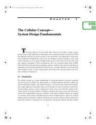 The Cellular Concept— System Design Fundamentals - Pearson