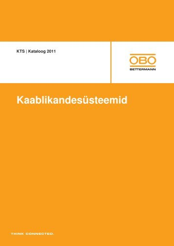 KTS Kaablikandesüsteemid - OBO Bettermann