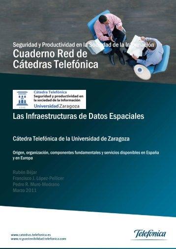 Las Infraestructuras de Datos Espaciales - Cátedra Telefónica ...