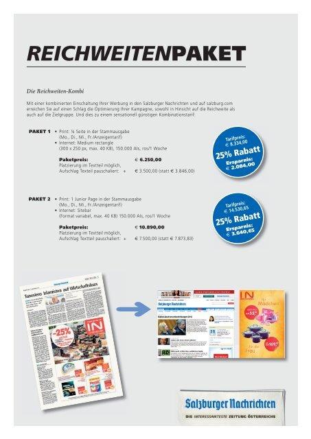 REICHWEITENPAKET - Salzburger Nachrichten