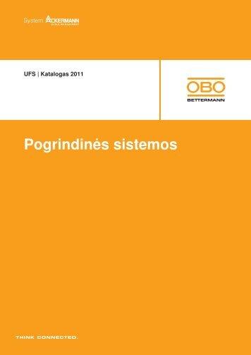 UFS   Kasetės didelėms apkrovoms - OBO Bettermann