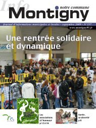 N°237 - Septembre 2009 - Montigny-lès-Cormeilles
