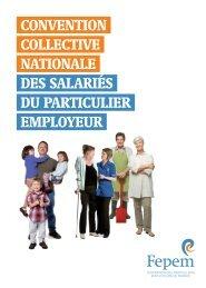 convention collective nationale des salariés du particulier ... - Fepem
