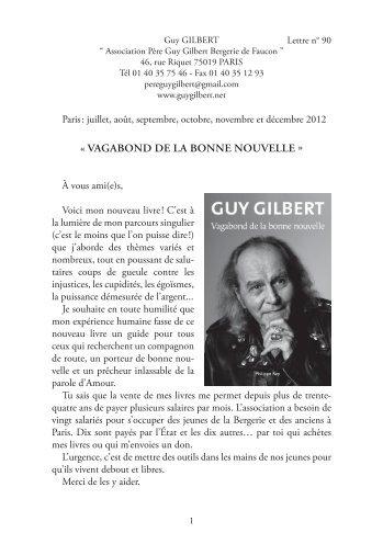 lettre circulaire numero 90 - Guy Gilbert