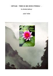 VIETNAM : TERRE DE MES REVES ETERNELS … - Lotus-Espoir