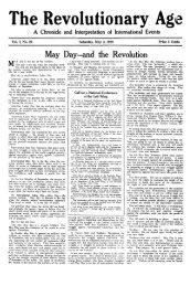 The Revolutionary Age