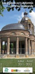 Les églises accueillantes dans les Ardennes - Diocèse de Reims