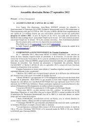 Assemblée diocésaine Reims 27 septembre 2012 - Diocèse de Reims