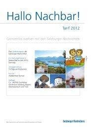 Hallo Nachbar! - Salzburger Nachrichten