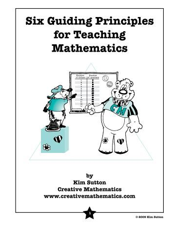 NCTM Principles and Standards for School Mathematics