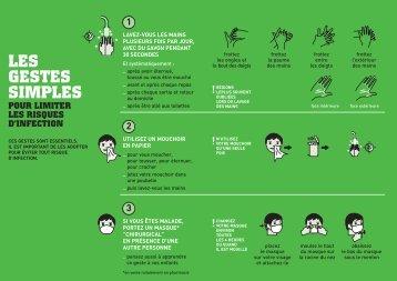Limitons les risques d'infection - Inpes