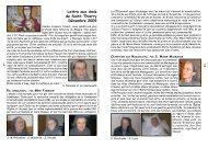 Lettre aux Amis de Saint-Thierry Décembre 2009 - Diocèse de Reims