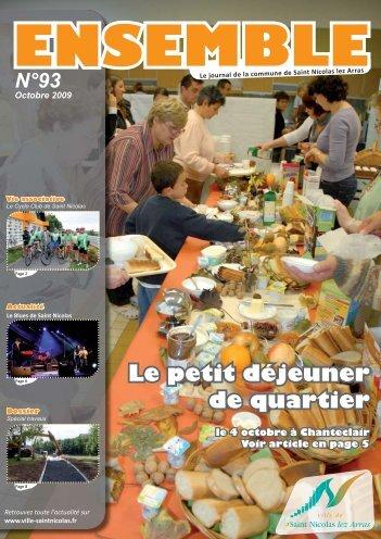 Ensemble N°93 - Octobre 2009 - Site Officiel de la ville de Saint ...