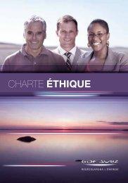 Charte éthique GDF SUEZ – Français