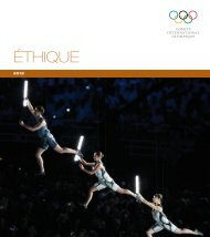 Code d'éthique 2012 - International Olympic Committee