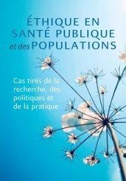 Éthique en santé publique et des populations - Joint Centre for ...