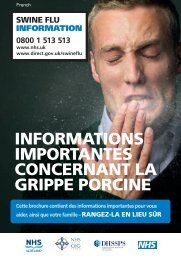 Swine flu information - Gov.uk