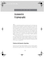 Asymmetric Cryptography - Pearson