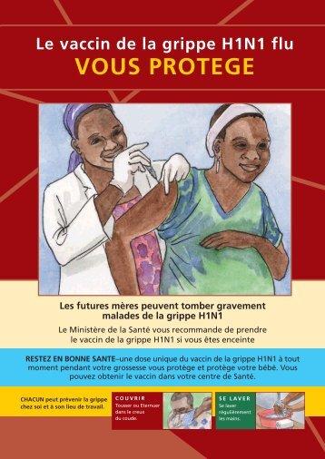 Le vaccin de la grippe H1N1 flu
