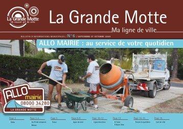 """Ma Ligne de ville"" N°6 - La Grande Motte"