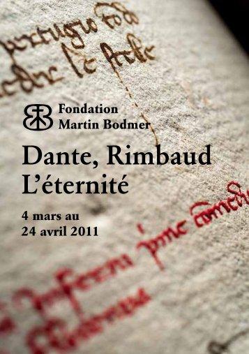 Dante, Rimbaud L'éternité - Sophie BOUREL