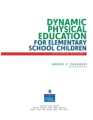 DYNAMIC PHYSICAL EDUCATION - Pearson Education