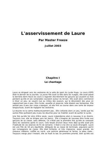 L'asservissement de Laure - Rêves de femme