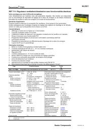 46.205/1 Sauter Components RDT 711: Régulateur ventilation ...