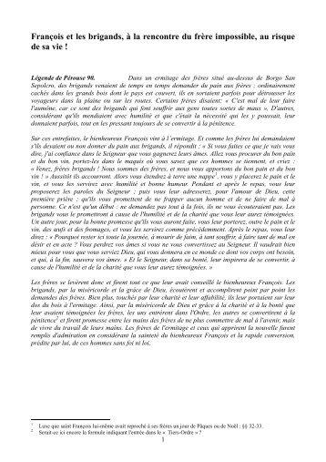 info document - Frères Capucins Province de France
