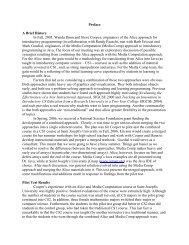 Preface A Brief History In Fall, 2005, Wanda - Pearson Education