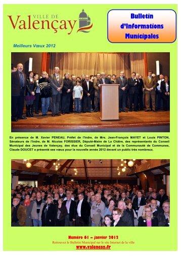 Bulletin n°61 - Ville de Valençay
