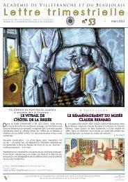 Lettre N° 53 - Site de référence de la culture et du patrimoine dans ...