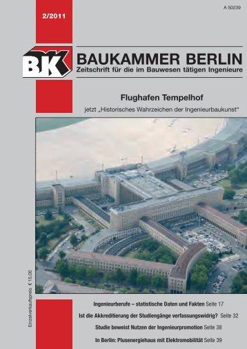 BK-Heft 2011-02 - Baukammer Berlin