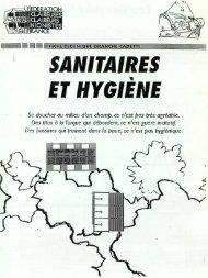 Fiche Technique - Sanitaires et hygiène