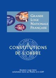 constitution - Grande Loge Nationale Française