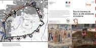 Sous le tramway de Dijon, la ville médiévale et moderne