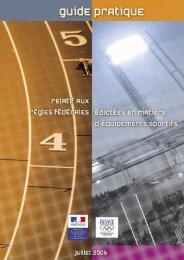 Guide pratique relatif aux règles fédérales édictées en - DDCS 77