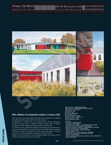 COMBAUD Patrick Architecte D.P.L.G. - L'Architecture