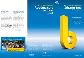 Brochure - Bauma