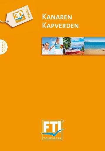 FTI Kanaren Kapverden So13