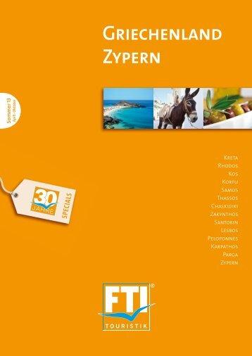 FTI Griechenland Zypern So13