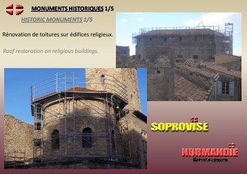 MONUMENTS HISTORIQUES MONUMENTS HISTORIQUES 1/5 ...